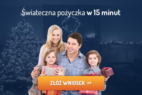 Kredyty przez internet na święta